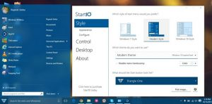 Windows 10 start menue image