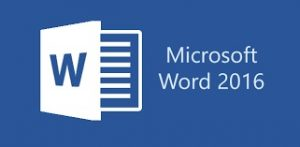 Word 2016 logo